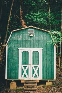 Building a shed on your property